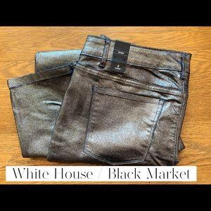 Skinny Metallic WH /BM pants